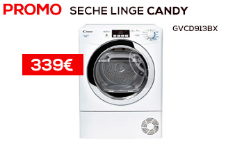 seche linge candy GVCD913BX